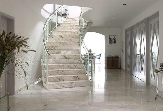 лестницы из мрамора под заказ
