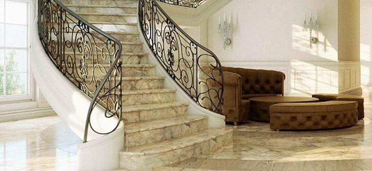 лестницы из натурального камня от галереи мрамора